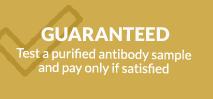 Guaranteed colorimetric immunoassay service